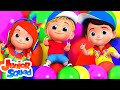 Balloon Song For Kids & Children | Nursery Rhymes For Toddler | Baby Rhyme By Junior Squad