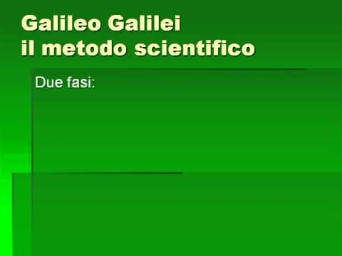 Galileo e Bacone: Il metodo scientifico