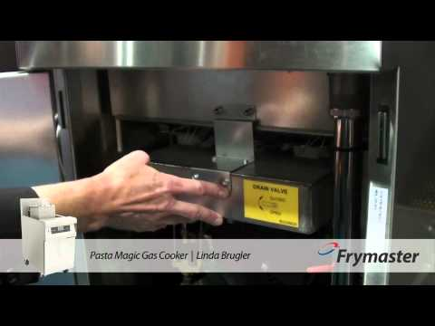 Frymaster Pasta Magic Gas Cooker Overview