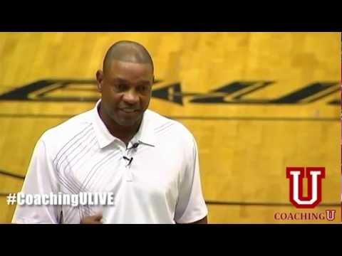 Boston Celtics Head Coach Doc Rivers at Coaching U LIVE 2011