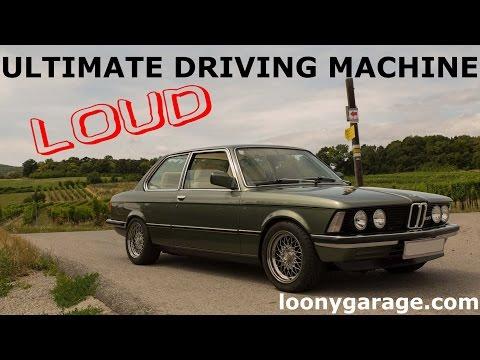 BMW E21 Test Drive