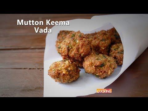 Mutton Keema Vada | Kari vadai | Kheema vada | Minced meat snacks | Ventuno Home Cooking