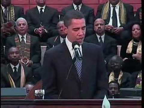 Barack Obama Speaks at Dr. King-s Church