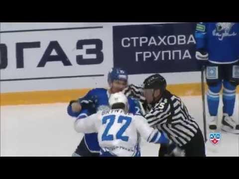 Бой КХЛ: Рыспаев против Белова и Брынцева / KHL Fight: Ryspayev fights Nick Belov, then Bryntsev