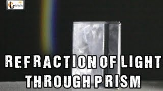 Refraction of Light Experiment | Dispersion of Light  through Prism