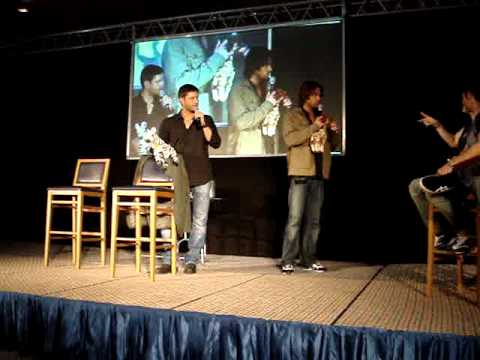 JIB2 Saturday Panel - Jared Padalecki &amp; Jensen Ackles, Part 2