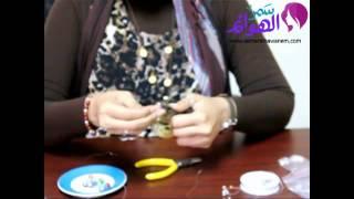 فيديو طريقة أسورة أحجار الميرانو