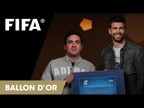 As fue la experiencia del campen de la FIWC en la ceremonia del Baln de Oro 2012