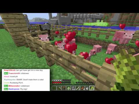 Pet Cemetery! - Minecraft AWESOME! Survival! - Part 19