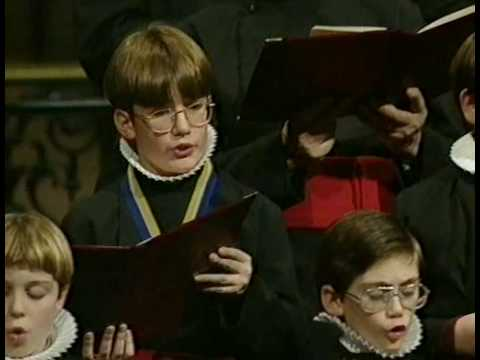 St Paul's Cathedral Choir 1997 Christmas Concert:  Sussex Carol