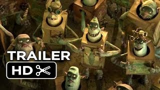The Boxtrolls Official Teaser Trailer (2014) - Ben Kingsley, Elle Fanning Movie HD