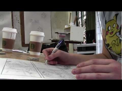 The Daily Reveille: LSU Comic Book Artist Taylor Wells - Three hours of Creation