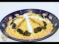 Pollo con fideos al estilo marroquí  ( madfouna ).Pui cu fidea in stil marocan (madfouna).