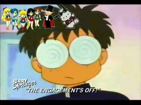 Jerry Springer Sailor Moon Spoof