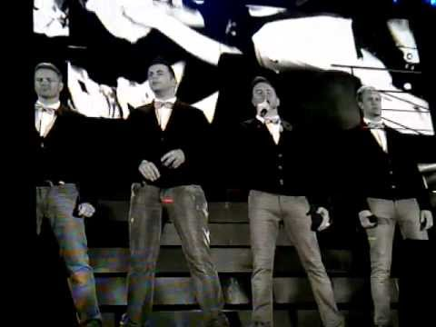 Westlife Farewell Tour Flying Without Wings the Final Song Live in Croke Park Dublin 22 06 12