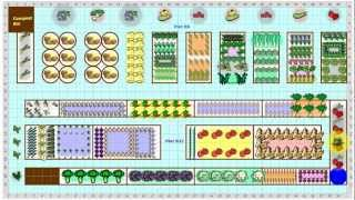 Garden Plans Gallery   Find Vegetable Garden Plans From Gardeners Near You.    YouTube