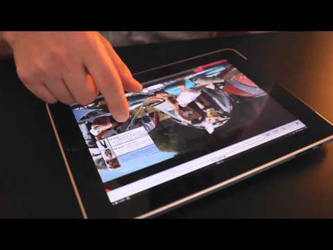 iPad touchable video - on wireWAX