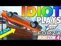IDIOT PLAYS FORZA HORIZON 4 (Forza Horizon 4 FUNNY MOMENTS)