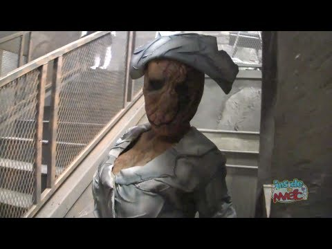 FULL Silent Hill haunted house lights-on walkthrough at Halloween Horror Nights 2012