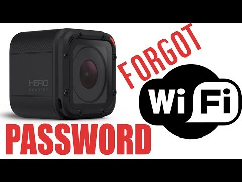 HOW to RESET wifi password GoPro HERO Session  in 59 seconds ( quick and easy )