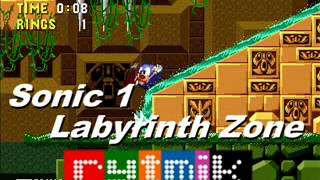 Sonic 1 Labyrinth Zone - Rytmik by