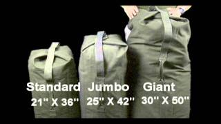 18d121acc1bf Single Strap Top Load Duffle Bags - YouTube