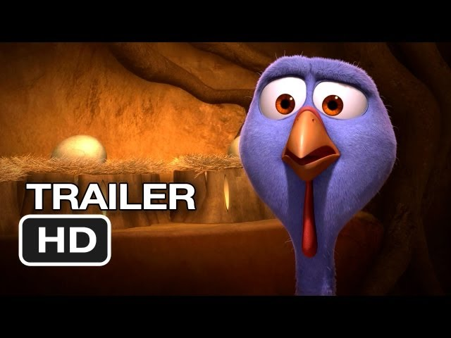 Free Birds TRAILER 1 (2013) - Owen Wilson Animated Movie HD