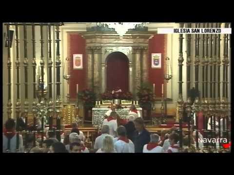 Procesión San Fermín 7 julio 2014 parte 2