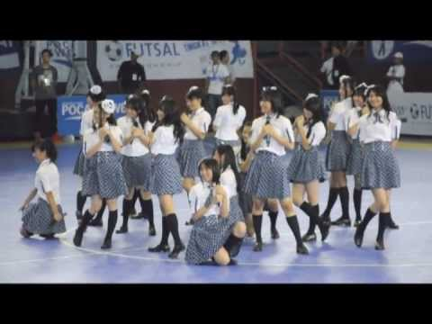JKT48 POCARI SWEAT futsal competition