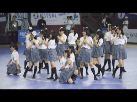 JKT48 POCARI SWEAT futsal competition