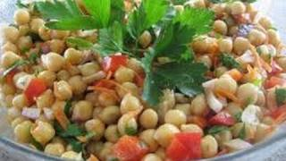 Carrot Chick Peas Salad ..