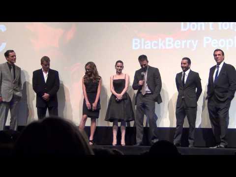 TIFF 2012 - Iceman Q&A