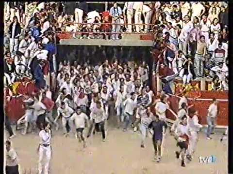 Encierro San Fermín   8 de julio de 1995 480p