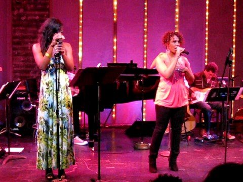 Patina Miller and Shayna Steele sing Ready to be Loved by Pasek and Paul