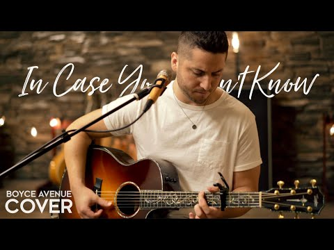 In Case You Didn't Know (Brett Young Acoustic Cover)