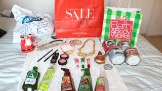 meghanrosette – HUGE Winter Haul: MAC, B&BW, Nordstrom & more!