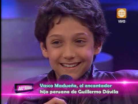 Hijo peruano de Guillermo Dávila recibió sorpresas en 'Al Aire'