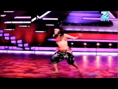 Sneha gupta Dance India Dance season 3,10th march 2012 madhuri choli ke piche zenith dance troupe