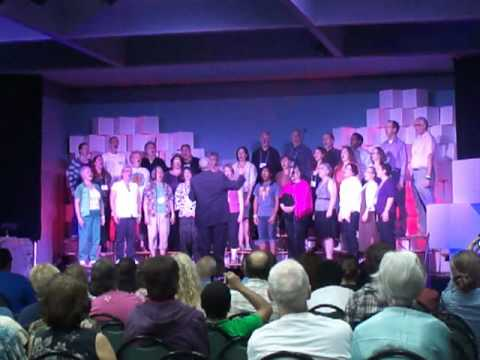 2011 Greenlake Baha-i Conference choir featuring Van Gilmer
