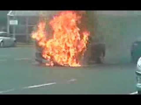 Jaguar Fire Truck Truck Fire And Explosions on