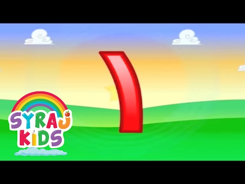 Learn Arabic Numbers 1-10 Children-s Counting Video: Cartoons Music Fun! Little Thinking Minds