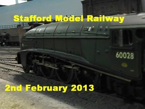 Stafford Model Railway Exhibition 2nd February 2013
