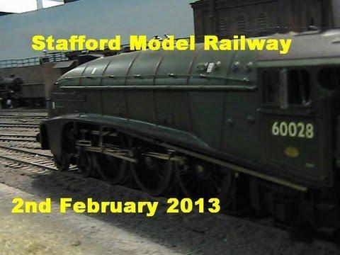 Stafford Model Railway Exhibition 2nd February 2013