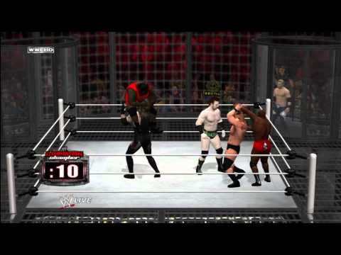 WWE '12 Universe 2.0 | [Part 9:] The Elimination Chamber