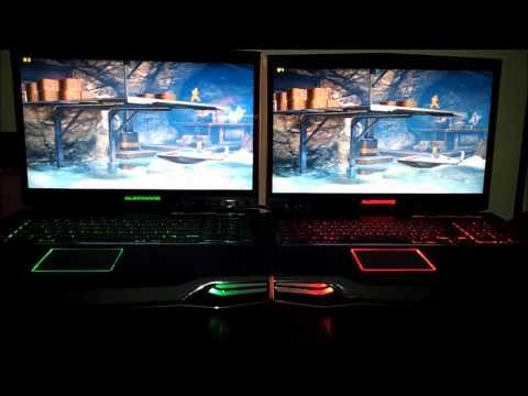 Alienware M18x: nVidia 580M SLi vs AMD 6990 Crossfire