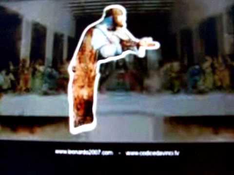 Leonardo Da Vinci - The Last Supper - Superimposed