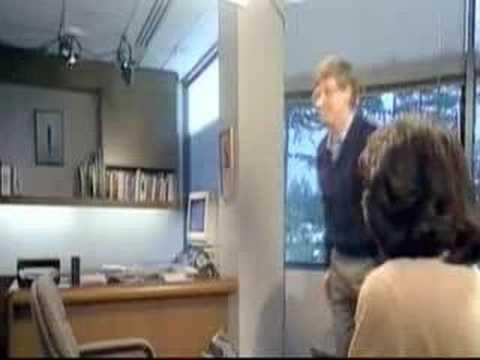 Bill Gates preskače stolicu – Pre jako :)