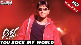 You Rock My World Video Song | Aarya