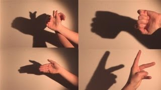 how to make shadow puppets with your hand youtube