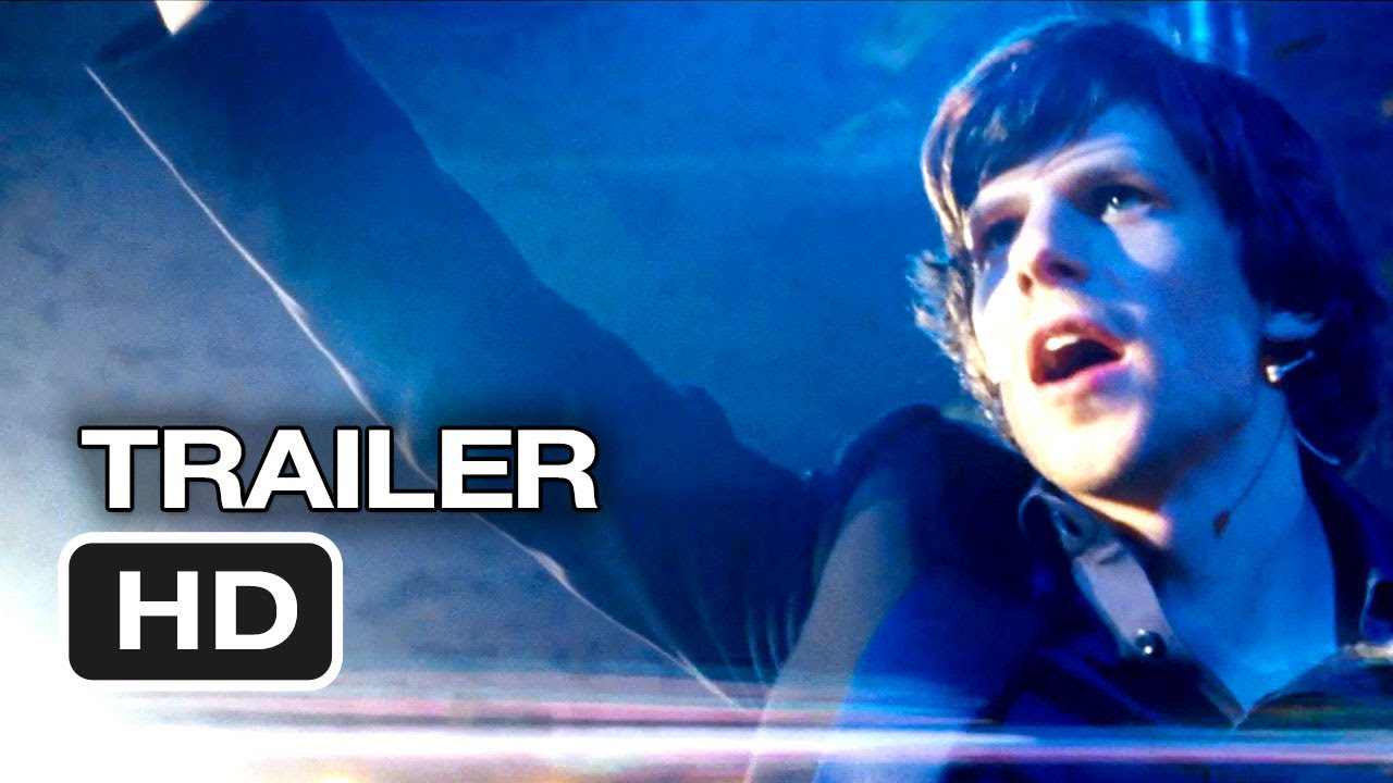 A photo of Now You See Me Official Trailer #2 (2013) - Mark Ruffalo, Morgan Freeman Movie HD